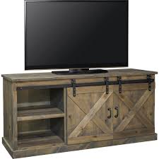 dynamic home decor dynamic home decor farmhouse 66 tv stand console in distressed