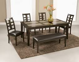 Tile In Dining Room Best Tile Top Dining Room Table Photos Home Design Ideas
