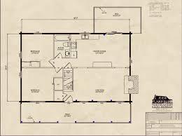 premier log home series first floor plan