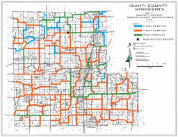 Nh County Map Isanti County Government Center Departments Highway Road