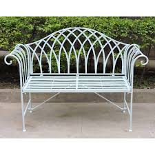 wrought iron bench in clever home decor essenziale and wrought