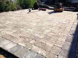 Installing Patio Pavers On Sand How To Install Patio Pavers Pave Installing On Sand Concrete