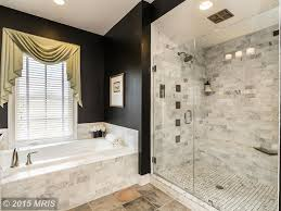 Marble Master Bathroom by Traditional Master Bathroom With Slate Tile Floors U0026 Drop In