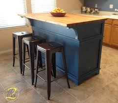 rosewood classic blue madison door diy kitchen island with seating