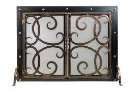 custom fireplace screens fireplace decorative screens in dallas