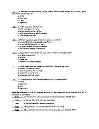 romeo and juliet act 3 quiz and answer key by classroom quips and