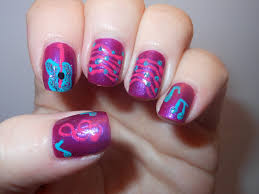 the polished momma rock on guitar and music nail art
