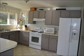 Refinish Kitchen Cabinets White by Kitchen Grey Painted Kitchen Cabinets Can You Paint Laminate