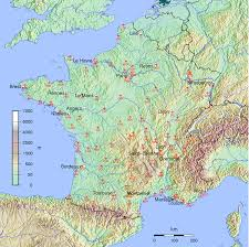 Toulouse France Map by List Of Airports In France Wikipedia