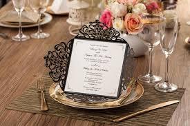personalized wedding invitations vintage free personalized wedding invitation cards laser cut card