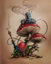 25 alice wonderland drawings ideas