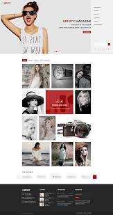 Home 02 by Artisty Magazine Psd Template By Psd Right Sell Themeforest