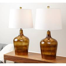 Colored Glass Table Lamps Glass Table Lamps A Collection By Sandy Favorave