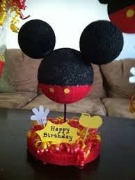 mickey mouse center pieces mickey mouse centerpiece i made for my s birthday things i