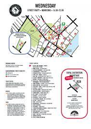 Map Distortion Street Parties Distortion