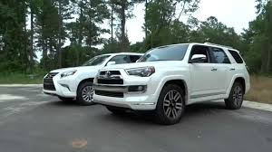 lifted lexus lx 570 what u0027s different 2015 lexus gx vs toyota 4runner limited youtube