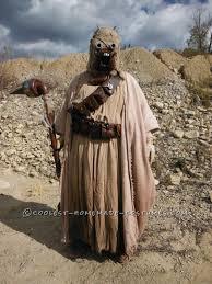 Raiders Halloween Costume Tusken Raider Aka Sand Person Star Wars Costume Tusken