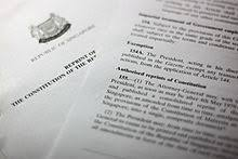 The Constitution Made No Mention Of A Presidential Cabinet Constitution Of Singapore Wikipedia