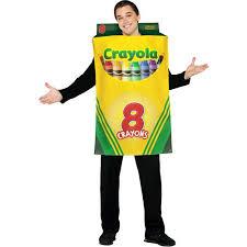 Adults Halloween Costume Crayola Crayon Box Halloween Costume Size Walmart