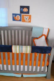 custom listing for danielle padded cloth crib rail protector