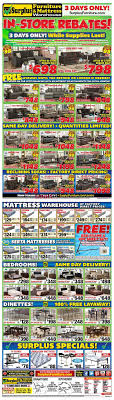 surplus furniture kitchener surplus furniture mattress warehouse kitchener flyer january