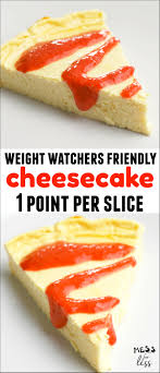 cuisine weight watchers one point cheesecake weight watchers mess for less