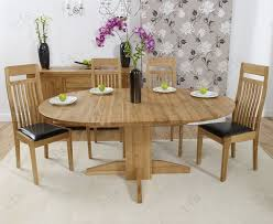 Buy Mark Harris Dorchester Solid Oak Cm Round Extending Dining - Monte carlo dining room set