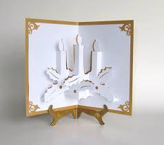 home decor handmade christmas candles 3d pop up greeting card home décor handmade