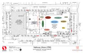 safeway shares plans for la playa store expansion richmond view the architectural plan