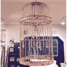 Birdcage Chandeliers Distressed Metal Birdcage Chandelier A Cottage In The City