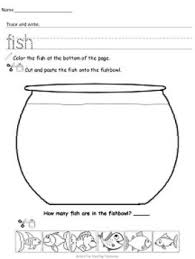 233 best fish images on pinterest alphabet worksheets