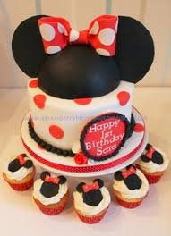 Red Minnie Mouse Cake Decorations Leilani U0027s Heavenly Cakes Minnie Mouse Cake Cupcakes U0026 Cake Pops