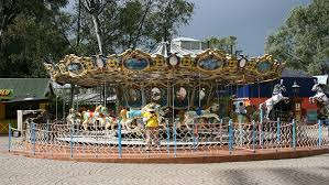 drop with the temperature at gold reef city theme park this winter