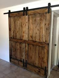 fascinating interior sliding barn door recycle an old barn door