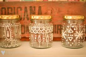 loving decorated jars things