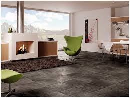 living room with grey ceramic tile the grey tile look with