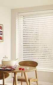 Wide Slat Venetian Blinds With Tapes Gloss White 50mm Wooden Venetian Blind Make My Blinds New