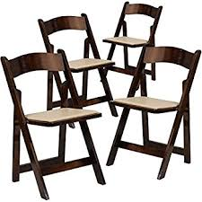 Wood Folding Chairs Amazon Com Flash Furniture Hercules Series Natural Wood Folding