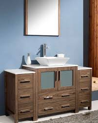 Bathroom Vanity With Side Cabinet Fresca Torino 54