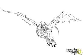 draw stormfly train dragon 2 drawingnow