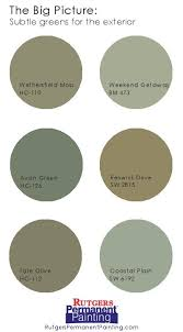 don u0027t be afraid of green for your exterior paint job u2013 it can be a