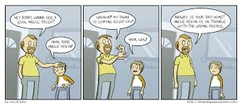 speed of magic amazingsuperpowers webcomic at the speed of light cool magic trick