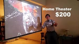 how to set up a budget home theater for 200 youtube
