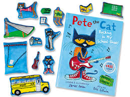 pete the cat rocking in my shoes storytelling kit at
