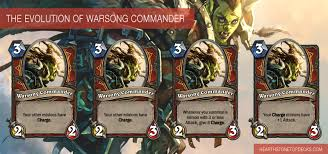 hearthstone patch 3 2 0 warsong commander nerf hearthstone top