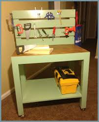 Toddler Tool Benches - new project archives painted vintage