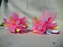 tulle hair bows the 25 best tulle hair bows ideas on diy hair bows