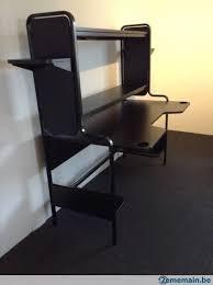 ikea bureau noir magnifique bureau noir fredde ikea comme neuf a vendre