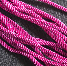 colored rope necklace images Wholesale craft supplies silk rope cord strand string jewelry jpg