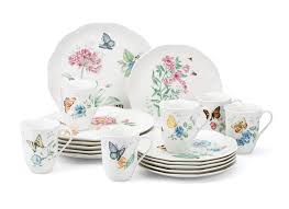 lenox butterfly meadow blue dinner plate kitchen dining